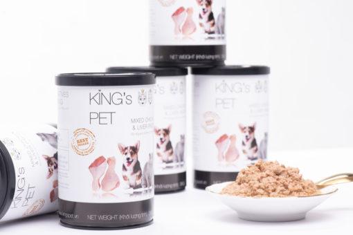 Pate chó mèo King's Pet – Bùng nổ Combo dinh dưỡng tươi ngon giao tận nơi mùa dịch